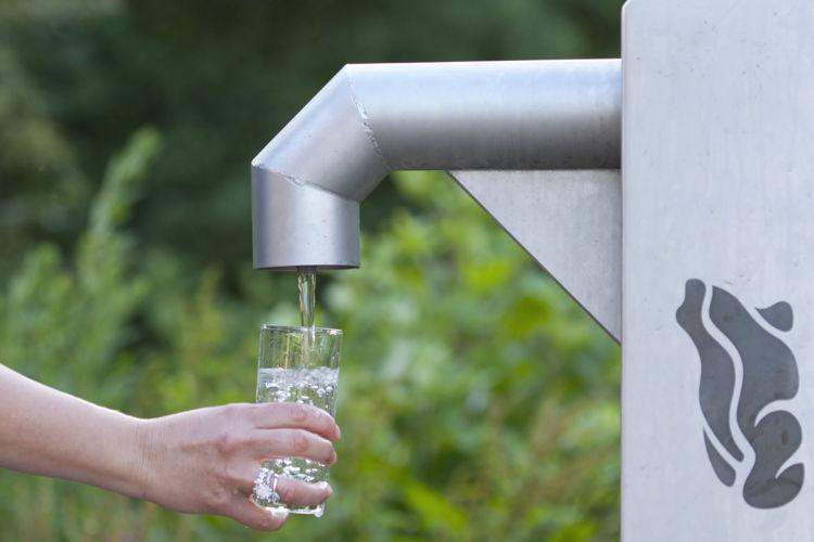 Dunea watertappunt