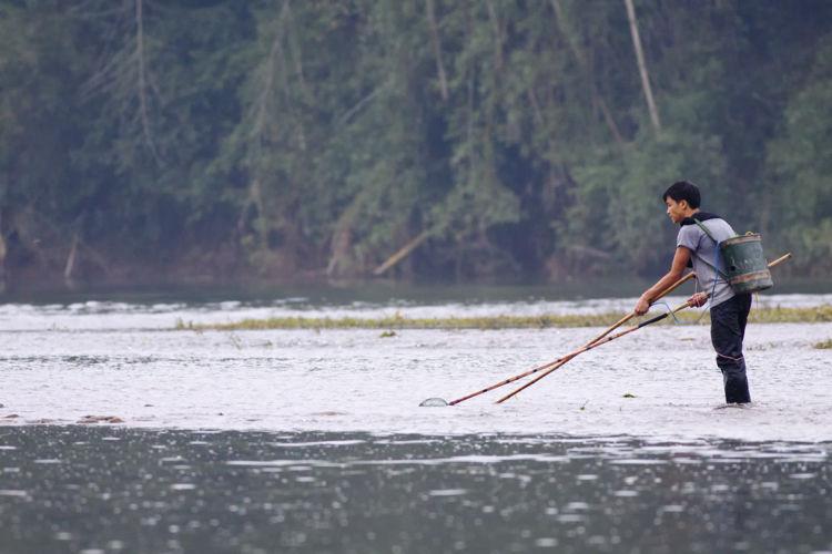 China electric fishing
